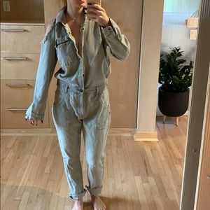 One teaspoon denim jumpsuit